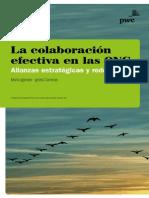 La colaboración efectiva en las ONG. Alianzas estratégicas y redes