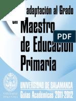 Adaptacion Grado Maestro Educacion Primaria 2011-2012 Final