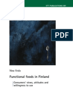 Functional Foods in Finland