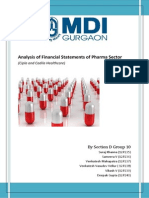 Financial Sector Analysis