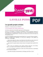 Les Grands Projets Urbains.