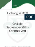 ESB Clothing Catalogue 2009