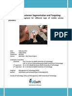 Smartphone's Customer Segmentation and Targeting:
