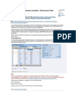 Enhancing Table Performance-New Web Dynpro Sample Available