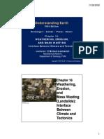 Chapter 16-Weathering (GEO, BIO & CIV)
