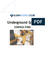 2012 SBC Consulting Underground Guide 2