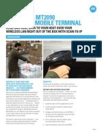 Motorola Manual MT2090 Application Brief