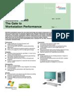 Fujitsu Siemens Celsius W360