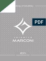 Katalog Marconi 2014
