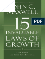 15 Laws of Growth