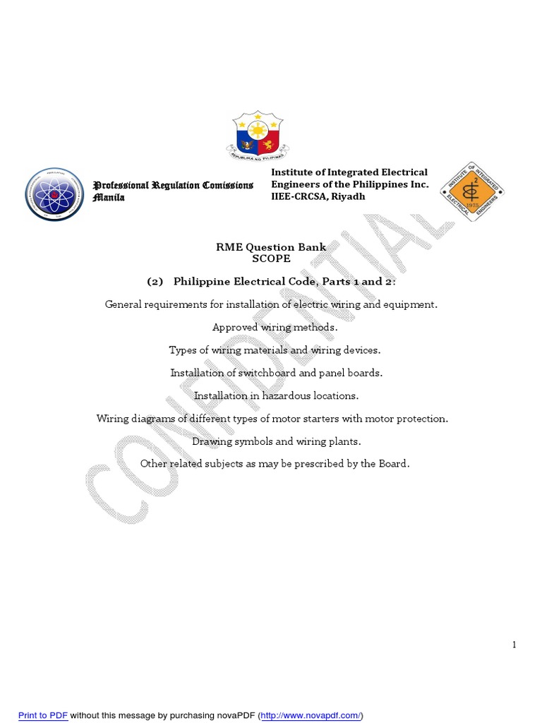 pec 1 2 rme electrical wiring electrical connector rh es scribd com electrical raceways & other wiring methods pdf