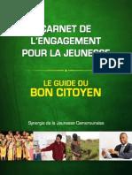 Carnet de l'Engagement pour la Jeunesse.