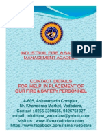 Brochure for Placement Help to - IfSMA Students 2014