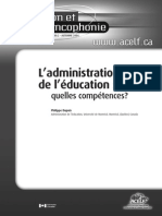 l Administration Del Education