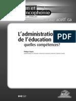 l Administration Del Education