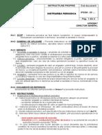IPSSM-03 -Instruirea periodica