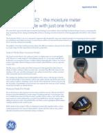 Application Sheets Protimeter MMS2
