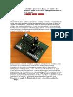 120354545 Circuito de Controle Automatico Para Bomba Dagua Com Sistema de Deteccao de Reservatorio