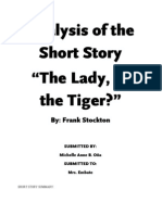 Analysis of the Short Story