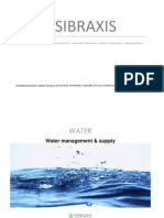 Sibraxis - Water Treatment