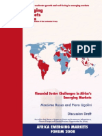 African Financial Development and Challenges