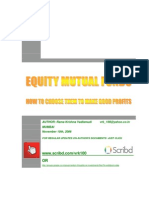 How to Choose an Equity Mutual Fund-MF-VRK100-10112006