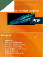 Fibra Óptica_Atenuação e Dispersão