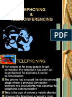 Telephoning & Teleconferencing