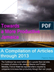 Francis Wade Gleaner Articles Compilation Thru 2013
