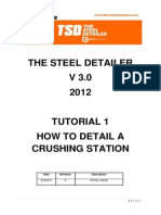 Tutorial 1 - How to Steel Detail a Crushing Station