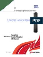 2 zEnterprise Technical Details - ITSOWW2011