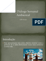 DSA – Diálogo Semanal Ambiental