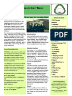 Newsletter 10 Feb 14