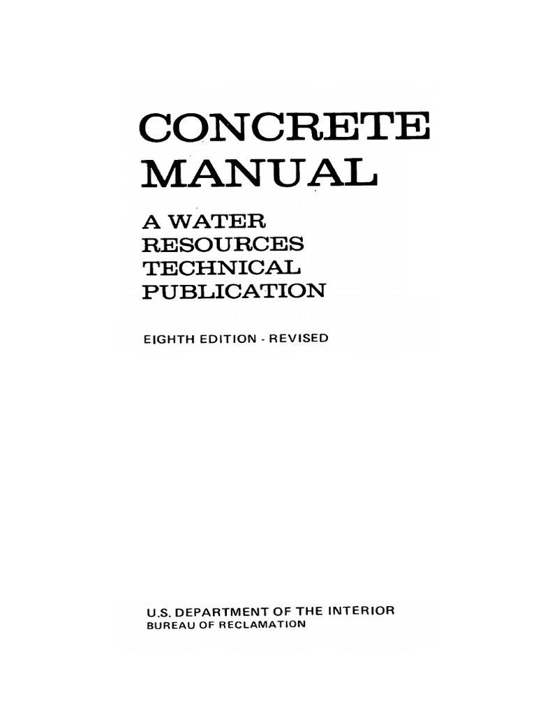 ConcreteMan 8th Ed Rev | Concrete | Construction Aggregate