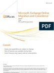 ExchangeOnline TechDeck MigrationCoexistence Office365