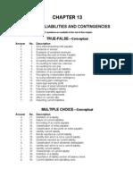 Ch13 Current Liab and Contigencies