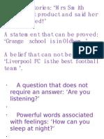 Writing Skills Starter Activity Persuade