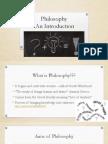 philosophy introductionhistory