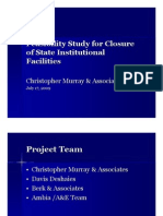 OFM Feasibility Study Overview