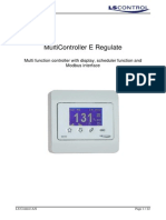 949-205245 MultiController E Regulate ES874 UK