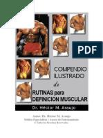 Compendio Ilustrado de Rutinas para Definición Muscular