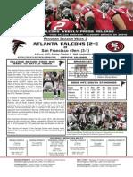 Atlanta Falcons vs. San Francisco 49ers Game 4