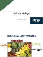 Bahasa Melayu-Buah Buahan Tempatan