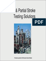 SIL & Partial Stroke Testing Solutionstation