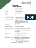 Lga Daily Lesson Plan Year 3 Kssr Draft 3-1