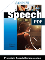 Projects in Speech Communication