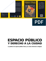 Espacio Public Oy Derecho a La Ciudad