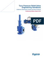 Tyco Pressure Relief Valve Engineering Handbook
