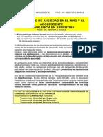 TRASTORNOS EMCIONALES DE COMIENZO NIÑEZ