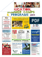 Education, Summer Camps & Programs - Winter 2014 - SCT